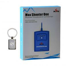 Gam3Gear Mayflash MAX011 Max Shooter One 마우스 키보드 콘버터 PS3 PS4 XBOX 360 XBOX 대응 (키홀더와 취급 설명서 첨부 와)