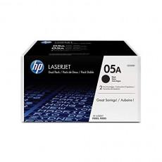 HP 05A CE505D 2 Toner Cartridges Black