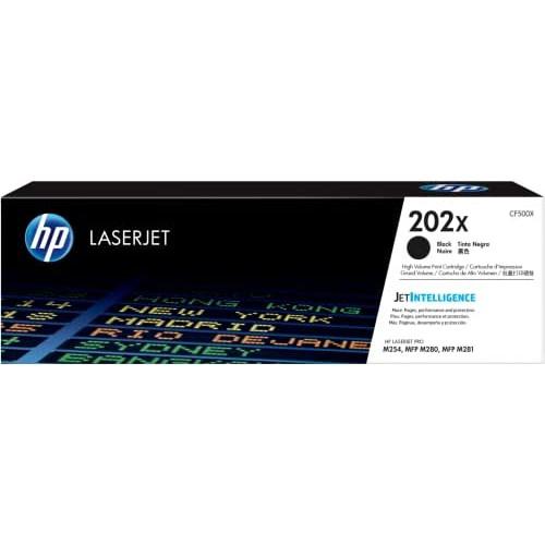 HP 202X CF500X Toner Cartridge Black High Yield