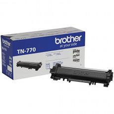 Brother TN-770 HL-L2370 MFC-L2750 Toner Cartridge Black in Retail Packaging