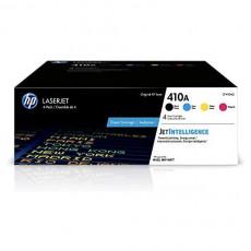 HP 410A CF410A CF411A CF412A CF413A 4 Toner Cartridges Black Cyan Magenta Yellow