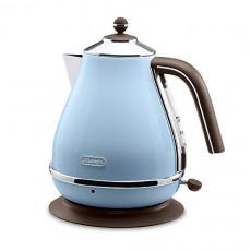 드롱기 전기포트 아이코나 빈티지 컬렉션 AC 100 V Delonghi Electric kettle 1.0L ICONA Vintage Collection KBOV1200J-AZ Azzurro Blue