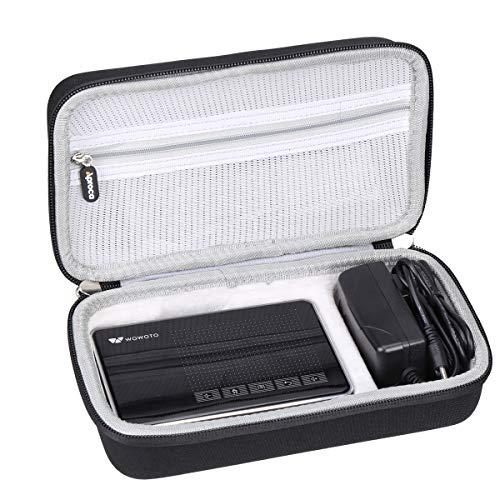 빔프로젝트 Aproca Hard Carry Travel Case Compatible with WOWOTO A5 Pro Mini Projector