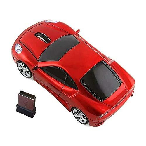 무선마우스 Wireless Car MouseKamouse 2.4G Optical Ergonomic USB Wireless Game Mice 1600DPI for Laptop Pc Desktop Windows 10