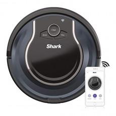 로봇청소기 Shark ION Robot Vacuum R87 with Wi-Fi and Voice Control 0.6 Quarts in Black