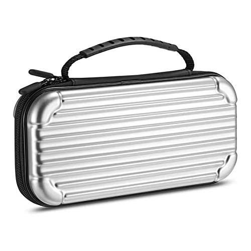 【Nintendo Switch대응】 닌텐도 스위치 케이스 닌텐도 스위치용의 carrying 케이스 수납 가방 대용량 방진내 충격 전면 보호 블랙