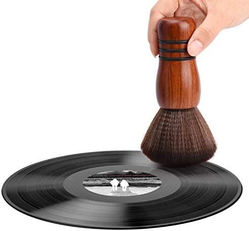 Facmogu - LP 레코드판 클리닝 브러쉬 옵션 (색상, 손잡이 길이) 택1