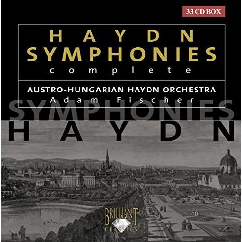 하이든:교향곡 전집(33매 셋트)/Joseph Haydn: Symphonies 1-104