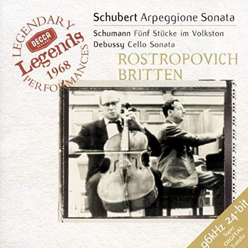 Schubert, Debussy / Rostropovich, Britten