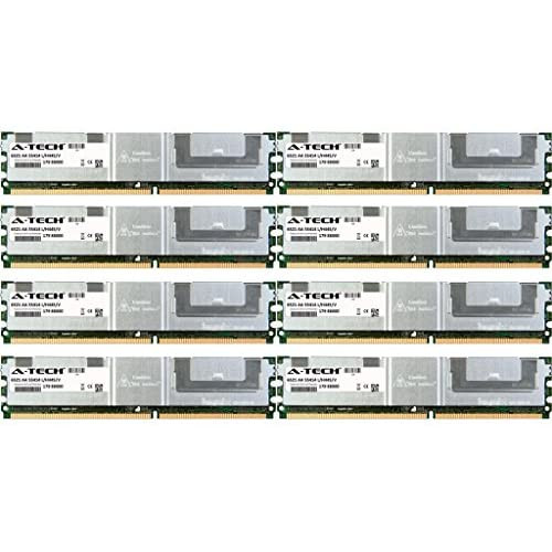 4GB KIT (2 x 2GB) for HP-Compaq Workstation Series xw6400 xw6600 xw8400 xw8600. DIMM DDR2 ECC Fully Buffered PC2-5300F 667MHz Server Ram Memory. Genuine A-Tech Brand.