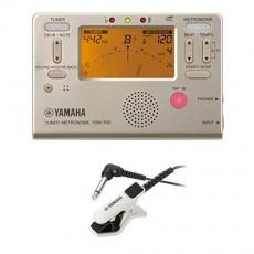 야마하 YAMAHA 튜너 메트로놈 TDM-700P 튜너용 마이크로 폰 TM-30PK 세트