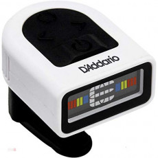 DAddario 응석 리오 헤드 스톡 튜너 크로메틱 타입 NS Micro Headstock Tuner 풀 컬러 디스플레이 PW-CT-12W 화이트