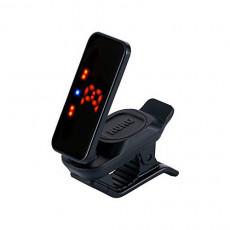KORG 기타/베이스용 클립 튜너 Pitchclip 2+ 피치 클립 PC-2+ 경량 18시간 연속 가동 각도 조절 레프티(왼손잡이) 대응 블랙