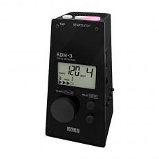 세트 구매KORG(콜그) 메트로놈 KDM-I BK 블랙 개인 연습 파트 연습 앙상블 연습으로 최적 대음량 120시간 연속 가동 경량 콤팩트 운반 & 100시간 연속 구동 관현악 기용 클립 튜너 AW-LT100M 컬러 표시단4전지1개 경량 콤팩트
