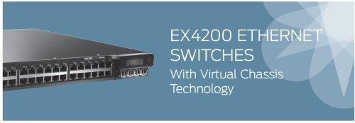 Juniper EX4200-24T Layer 3 Switch (EX4200-24T)